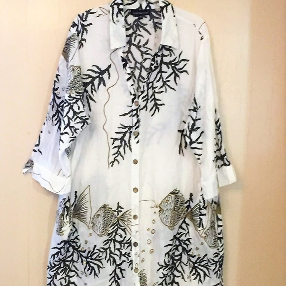 52754cd8246 CLUB Z COLLECTIONS Other - CLUB Z COLLECTION TUNIC COVER UP LIGHTWEIGHT 2X